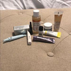 Beauty samples.